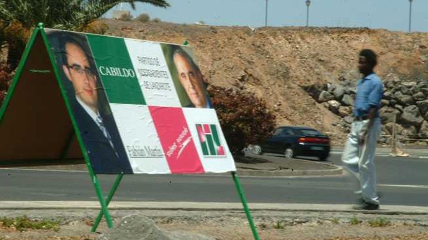 El laboratorio político de Lanzarote