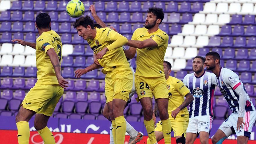 El Villarreal hunde a un Valladolid que se mete en apuros