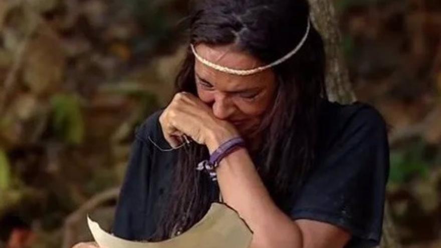 Olga Moreno carga contra Rocío Carrasco en Supervivientes