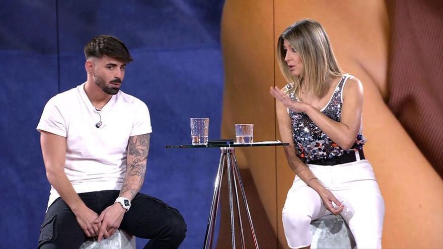 """Isaac explica por qué le fue infiel a Lucía y asusta a Sandra Barneda: """"Qué miedo das, tío"""""""