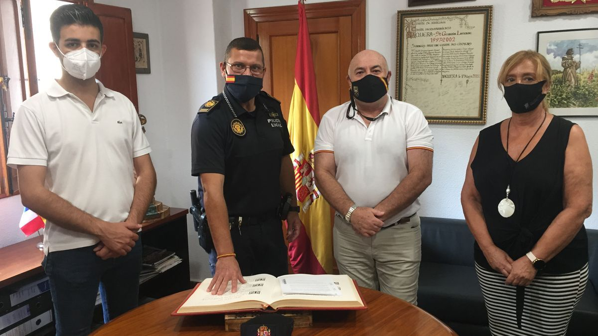 Nou Inspecto de la Policia Local de Nàquera