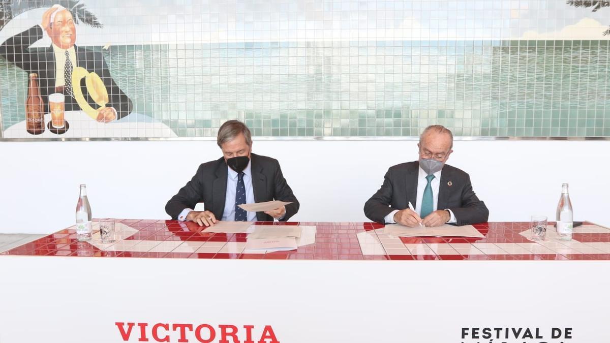 Cervezas Victoria, nuevo patrocinador oficial del Festival de Málaga.