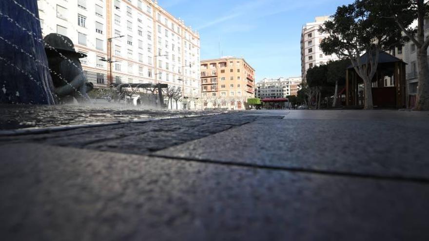 Castelló permanece desierto tras tres semanas encerrados en casa