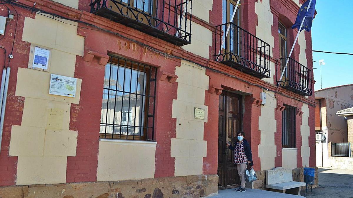 Ayuntamiento de San Cristóbal de Entreviñas.