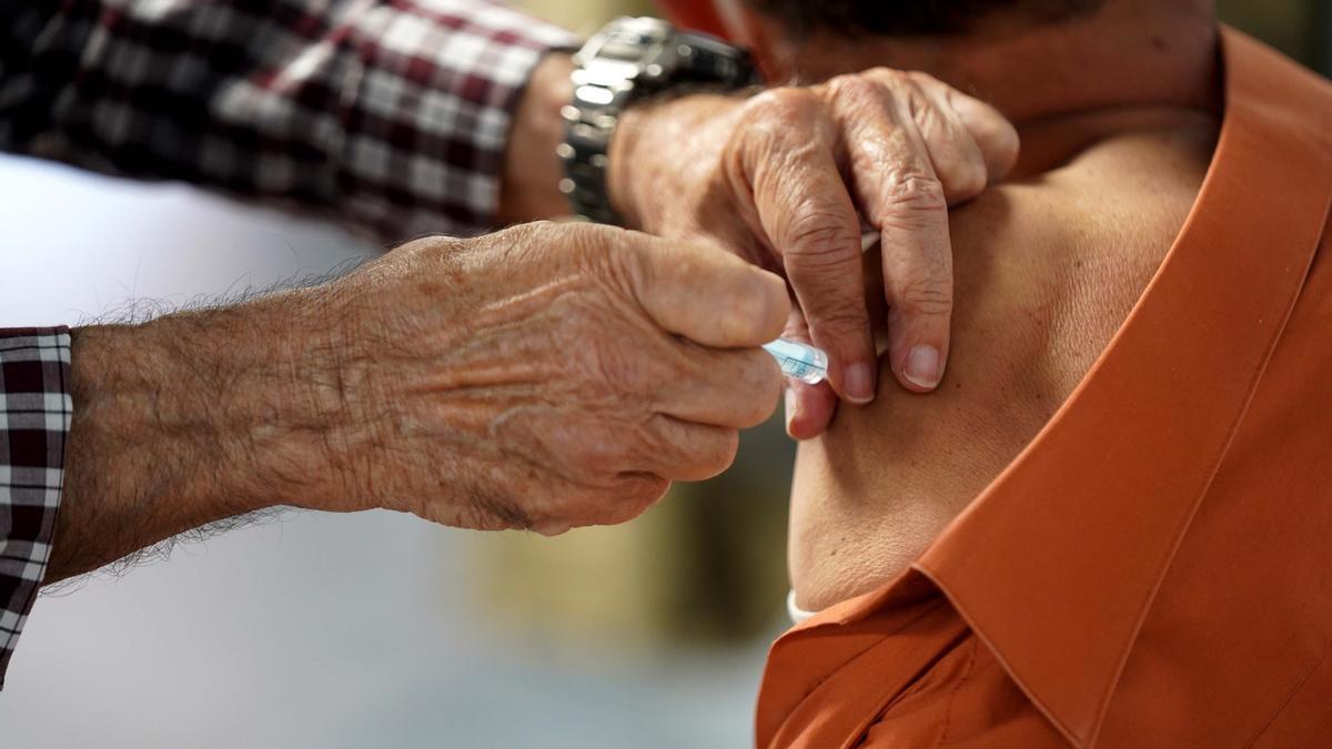 Vacunación en el Wizink.