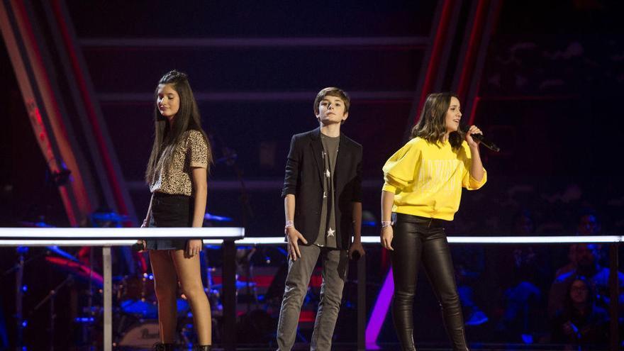 Bisbal 'roba' el talento de la canaria Irene en 'La Voz Kids'