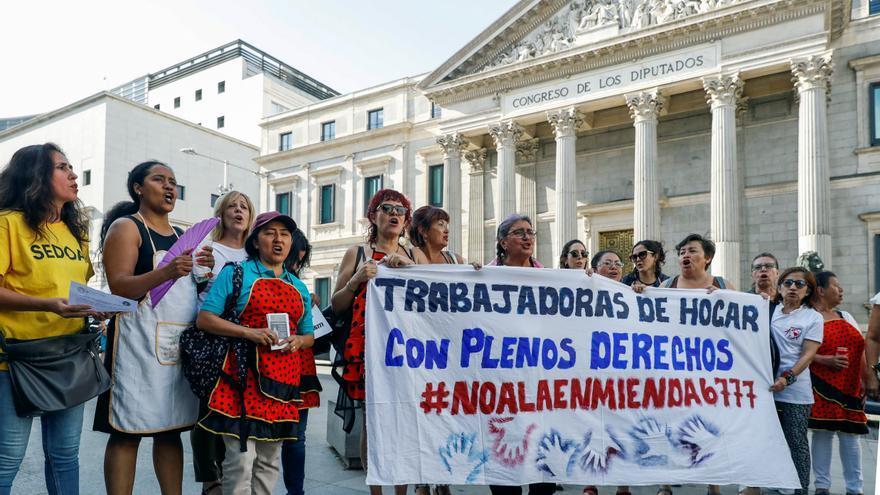 Una de cada tres trabajadoras del hogar en España es pobre