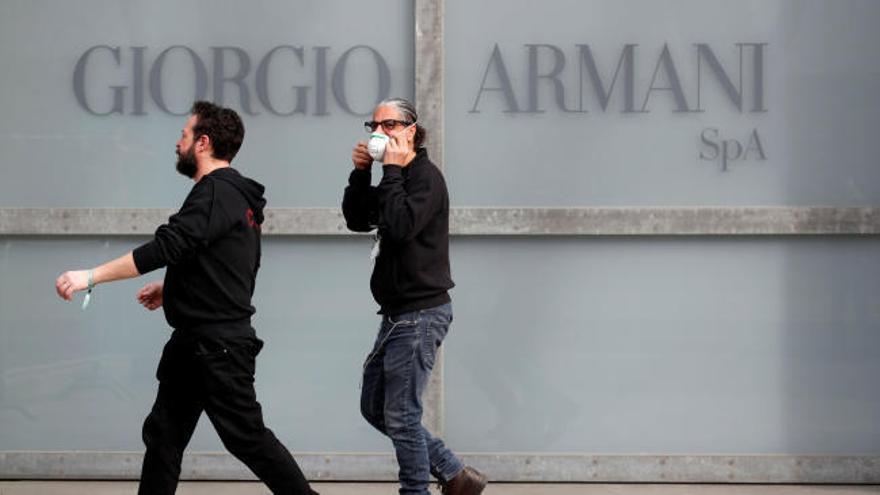 Desfile de Armani a puerta cerrada por el coronavirus