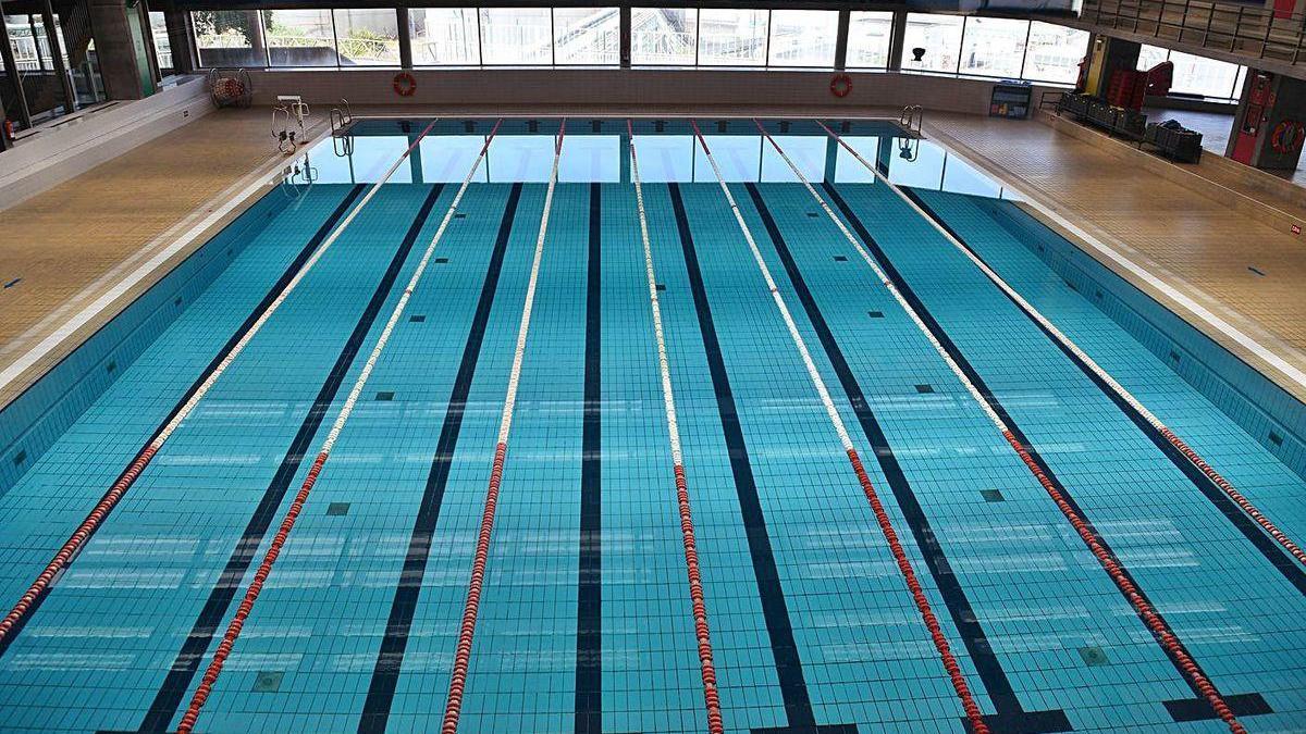 La piscina de San Diego, tras su reapertura.