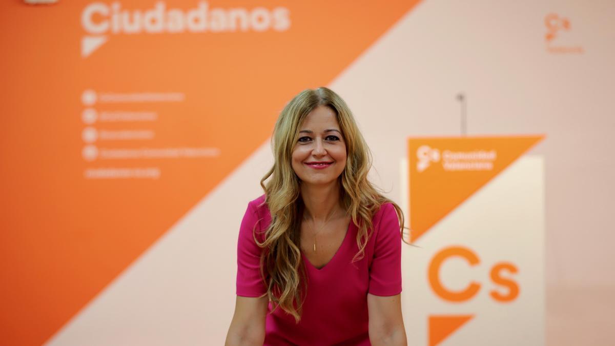 La secretaria de Organización, Teresa Ortíz