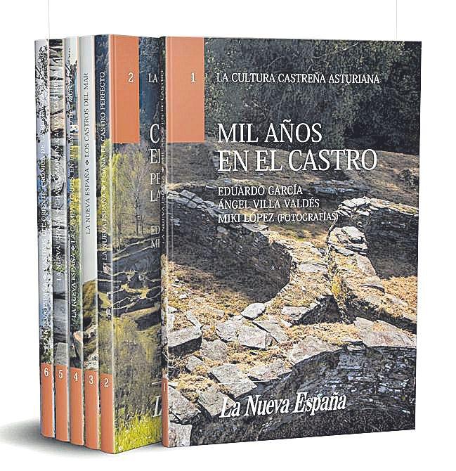 """El coleccionable """"La cultura castreña asturiana"""""""