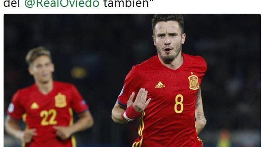 """Saúl Ñíguez:  """"Ahora soy del Real Oviedo"""""""