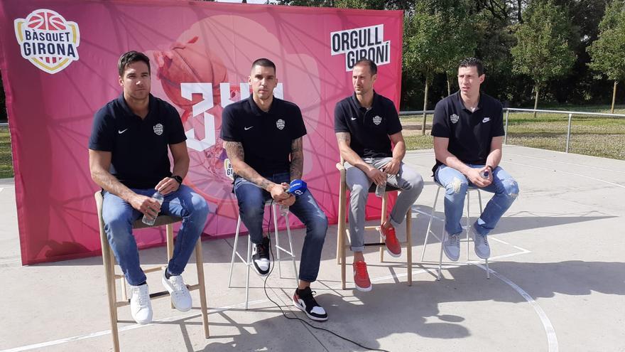 El Bàsquet Girona impulsa l'equip de 3x3
