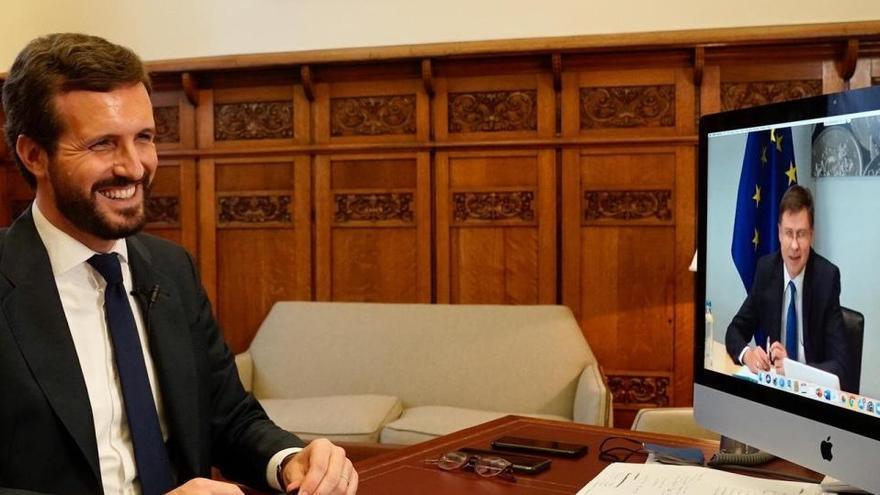 Casado defiende que una autoridad independiente gestione los fondos europeos