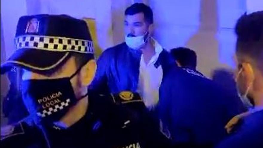Tres agentes heridos y tres detenidos en un altercado en el Barrio de Alicante