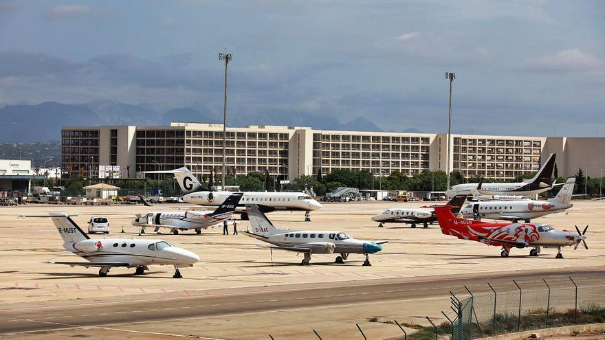 Los 'jets' privados desde Alemania crecen un 90% en diciembre