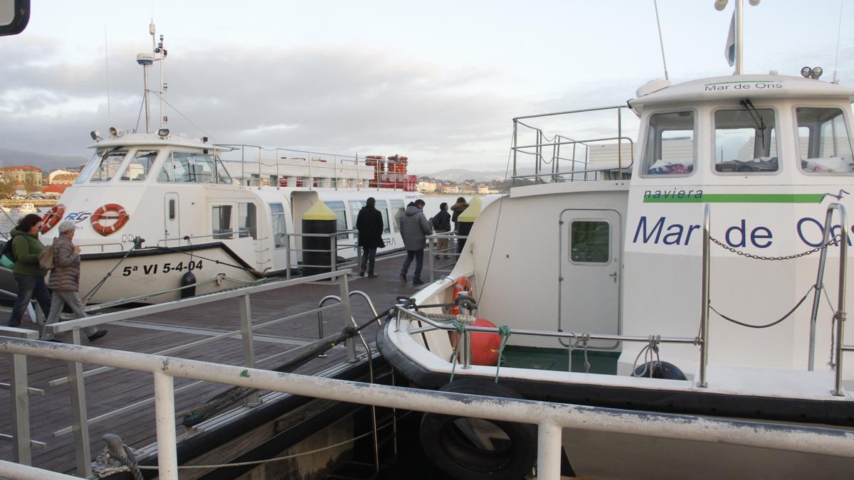 Estación marítima de Cangas.