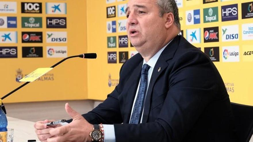 """Ramírez: """"No tengo nada que ver con Seguridad Integral Canaria, no sé si paga o no paga"""""""