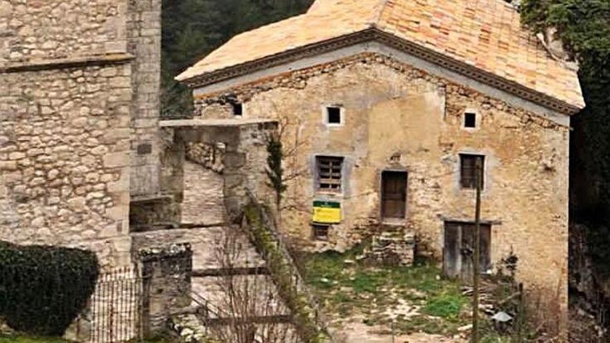 La rectoria de la Pedra ha iniciat la seva restauració