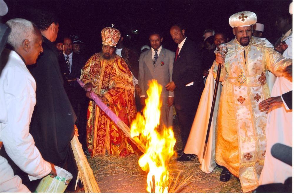 Etiopía - Fiesta conmemorativa del hallazgo de la Verdadera Santa Cruz de Cristo.