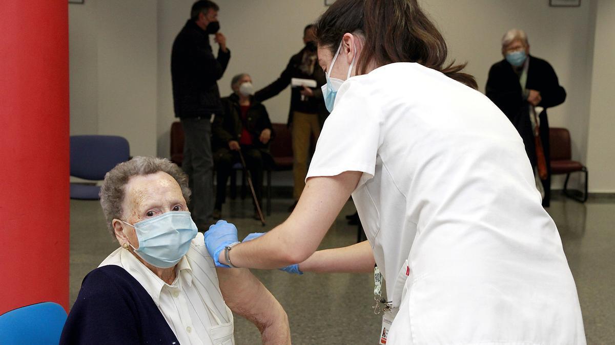 Vacunación en Puçol
