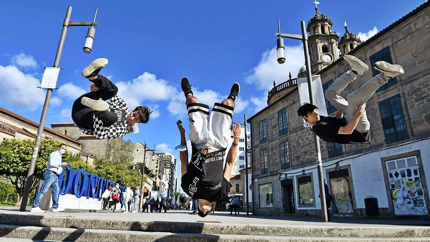 Pontevedra, a golpe de acrobacias