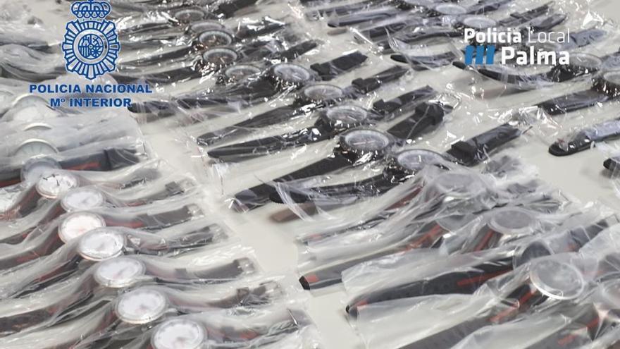 Polizei stellt Hunderte gefälschte Markenuhren auf Mallorca sicher