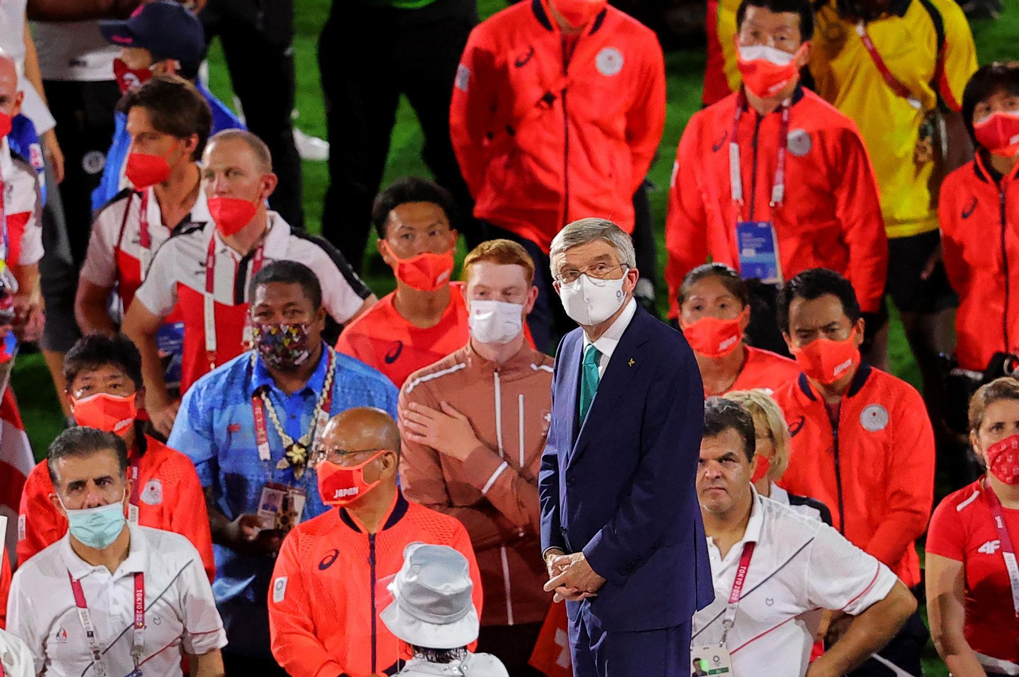 Ceremonia de clausura de los Juegos Olímpicos de Tokio 2020