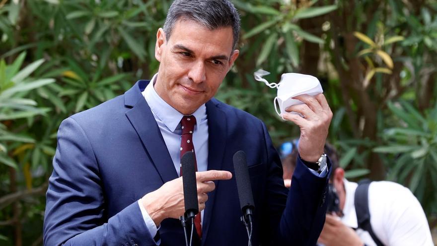 """Sánchez: """"Hemos pasado de la España de la resistencia a la de la recuperación"""""""