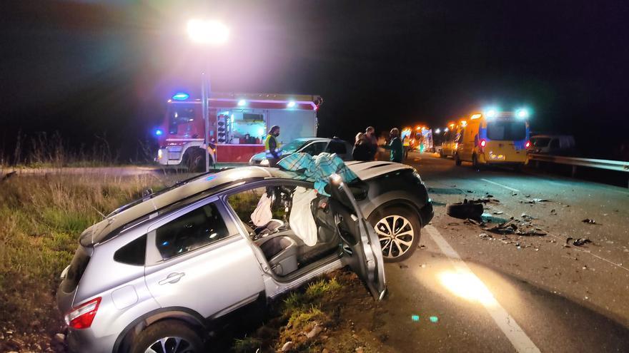 Tres heridos en un accidente de tráfico en Toro