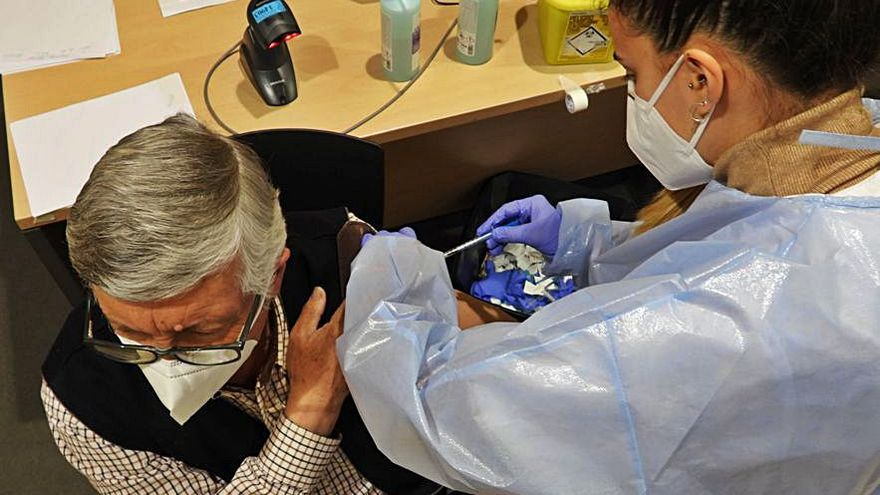 La vacunación cumple otro reto con la administración de 19.000 dosis en una semana