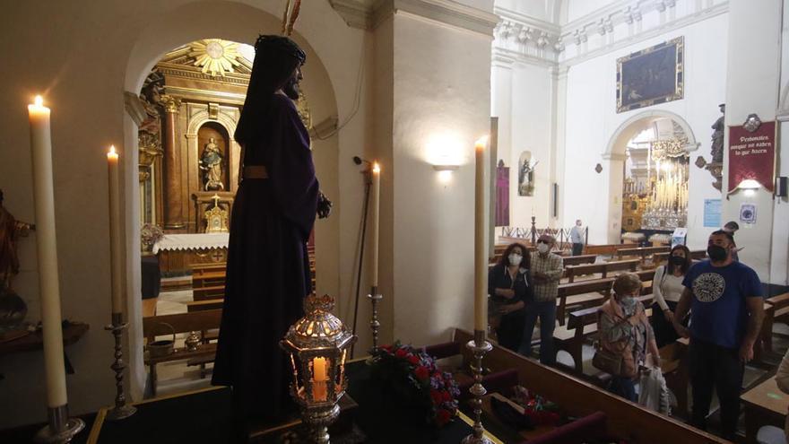 Veneración al Cristo del Rescatado