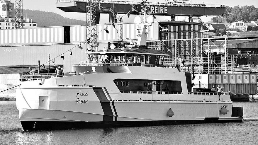 Freire Shipyard bota la patrullera para Kuwait