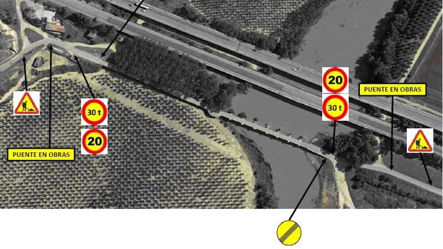 Se reabre al tráfico mañana miércoles el puente medieval de Castrogonzalo con medidas cautelares