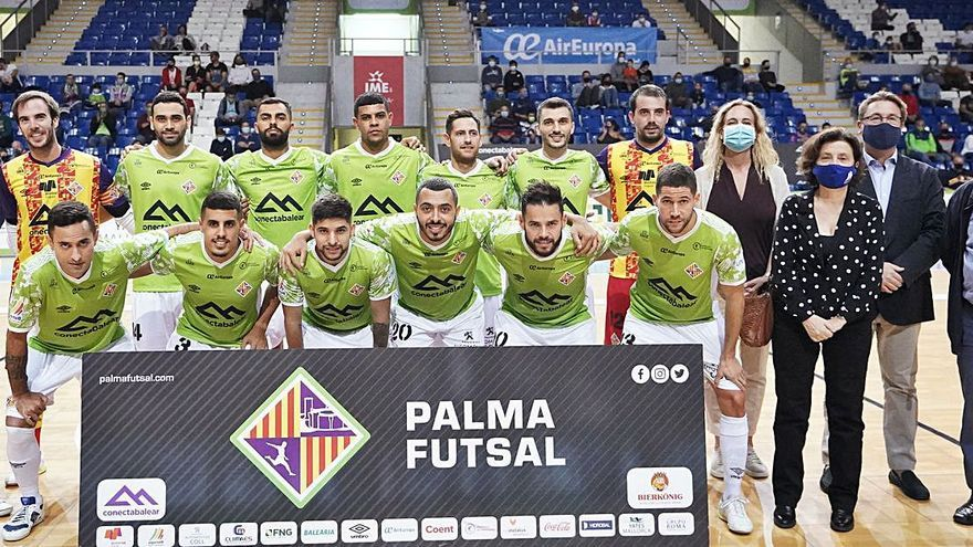 El Palma Futsal vuelve a dar la talla