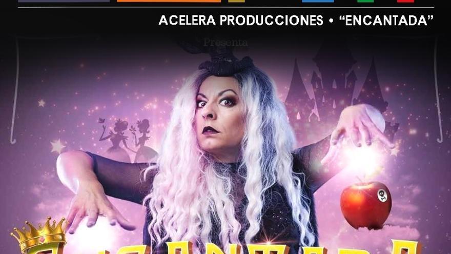 Espectáculo teatral 'Encantada' de la compañía Acelera Producciones