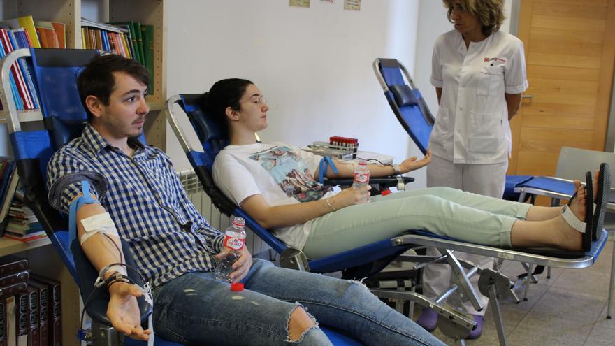 Zamora tendrá puntos de donación de sangre durante toda la semana que viene
