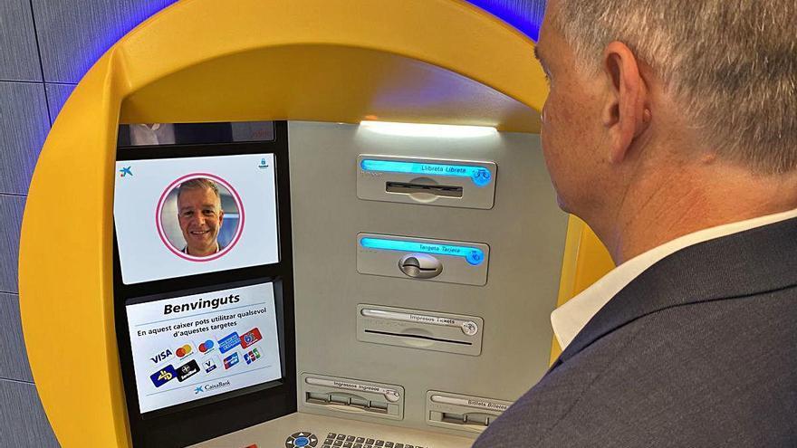 CaixaBank comienza a instalar en la provincia cajeros con reconocimiento facial