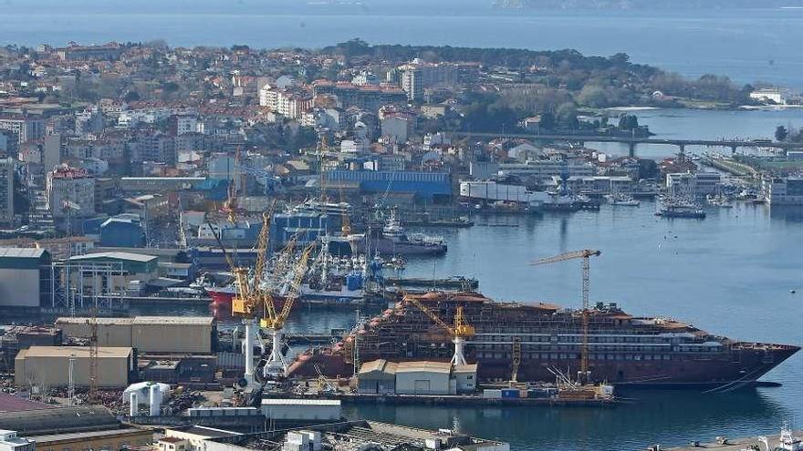 El naval gallego retiene la hegemonía nacional en cartera de pedidos con casi 1.200 millones