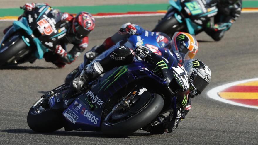 Maverick Viñales és quart a Motorland i es posa tercer al Mundial de MotoGP