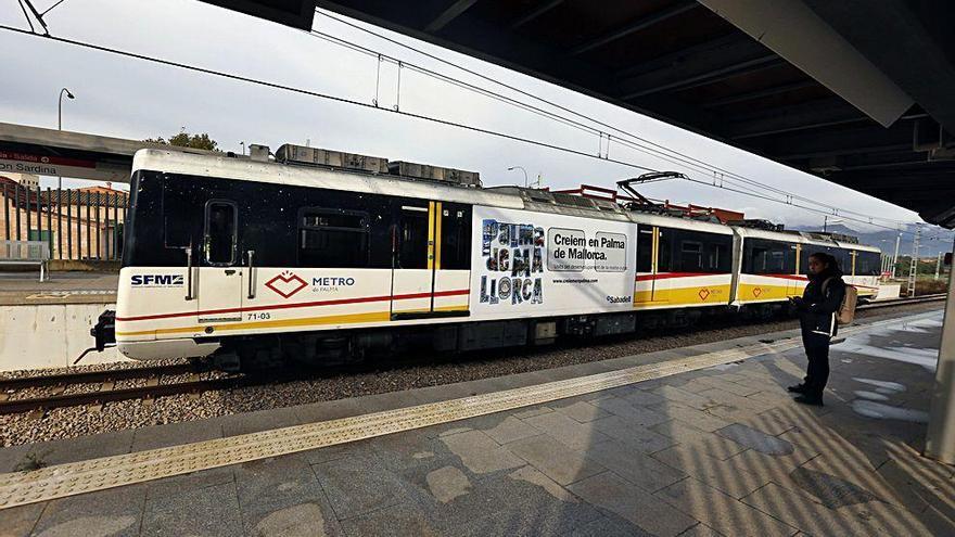 El metro a la UIB saldrá cada 20 minutos a partir de este jueves