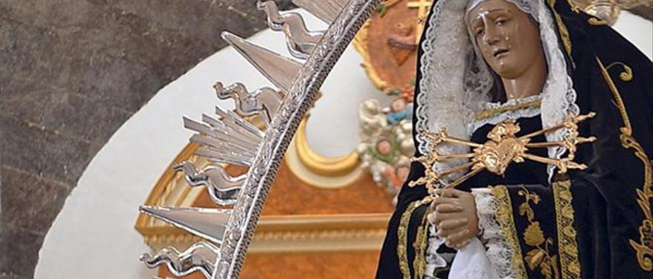 La isla de Lanzarote celebra hoy la festividad de su patrona, la Virgen de los Dolores.