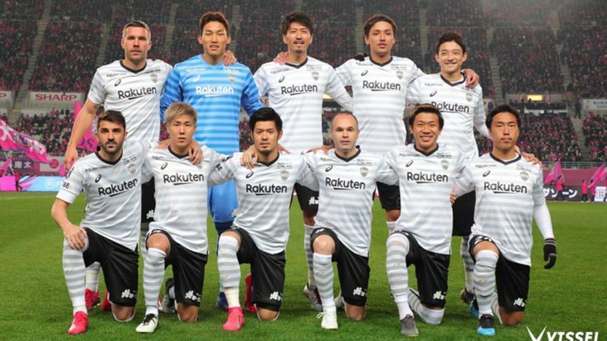 Iniesta y Villa inician la Liga japonesa con derrota