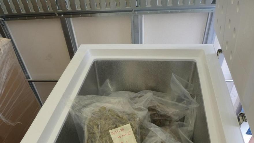 A presó un camioner figuerenc que transportava 21,3 quilos de marihuana