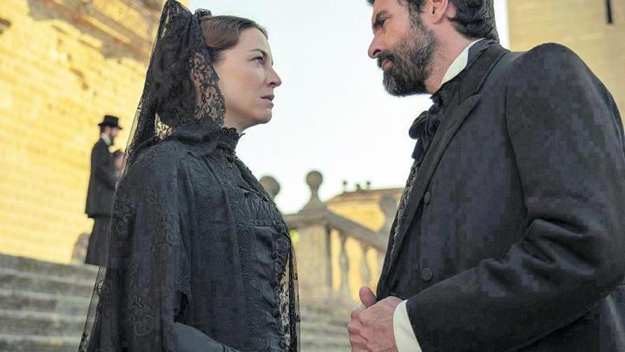 """Leonor Watling y Rafael Novoa: """"Si te gusta María Dueñas, esta historia es preciosa"""""""