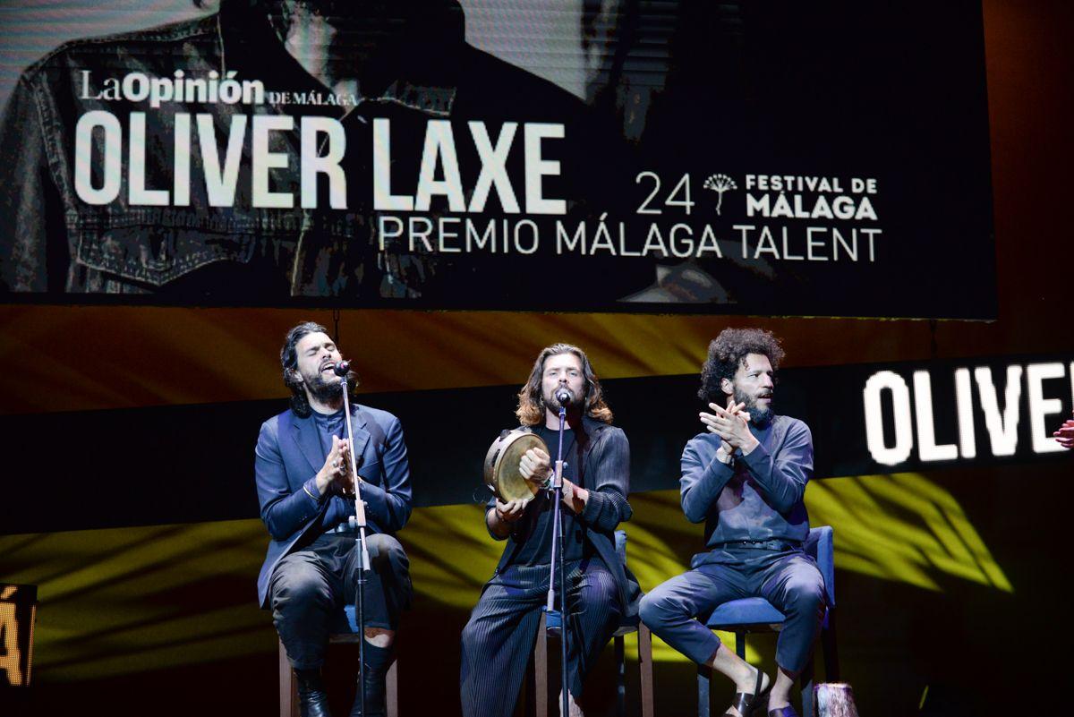 Las imágenes de la gala de entrega del Premio Málaga Talent - La Opinión del Festival de Málaga
