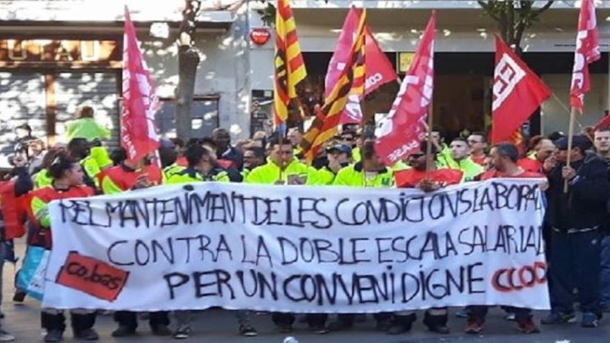 """Els treballadors de manteniment públic de Figueres convoquen una concentració per """"un conveni digne"""""""