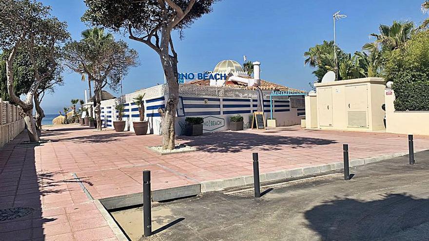 Mejoran el saneamiento en una de las avenidas de Las Chapas