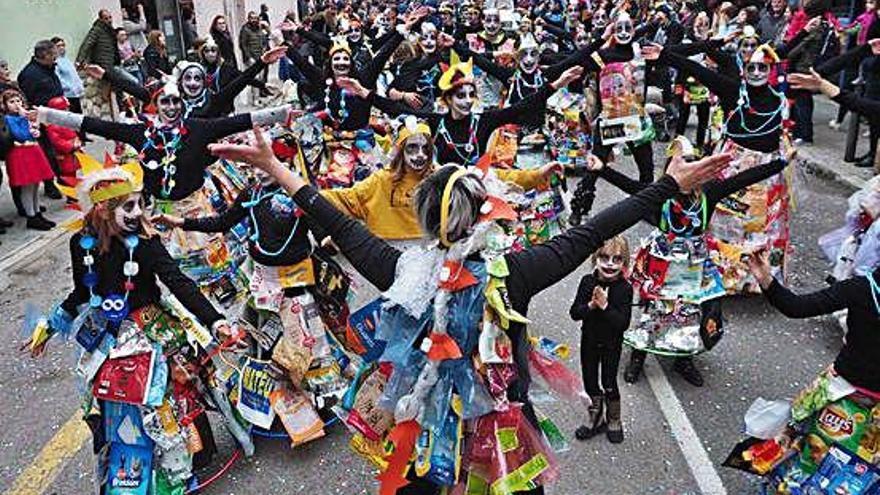 Banyoles enceta la temporada de Carnaval