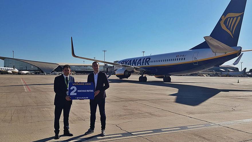 Ryanair vincula a las tasas su crecimiento en València